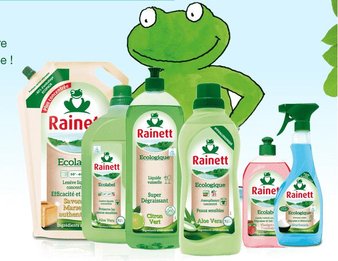 Les produits de la marque Rainett