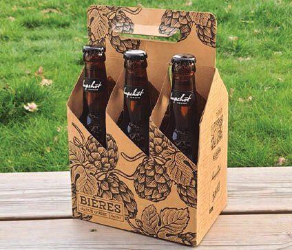 packaging pack de bières